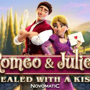 Romeo & Juliet sbarca tra le slot Novomatic
