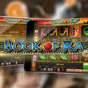 Giocare Book of Ra sul telefono